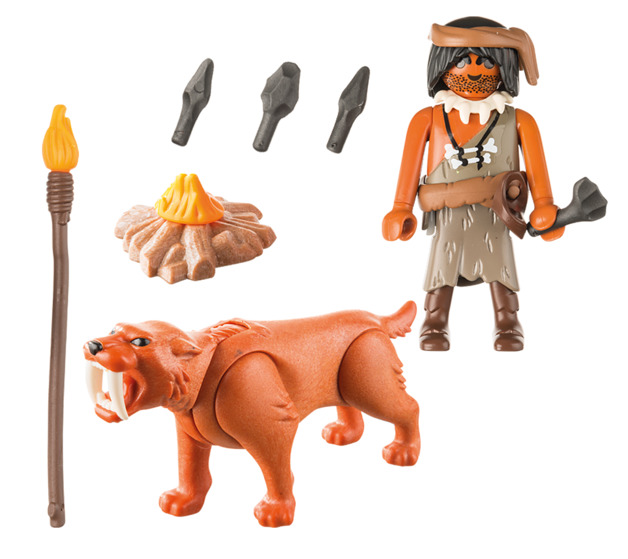 Playmobil: Special Plus - Caveman with Sabretooth Tiger (9442)