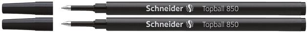 Schneider: Topball 850 Rollerball Refill - Black (2 Pack)
