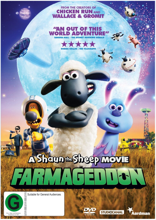 A Shaun the Sheep Movie: Farmageddon on DVD