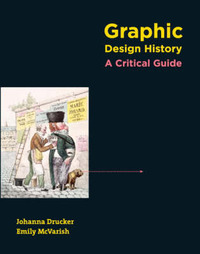 Graphic Design History: A Critical Guide by Johanna Drucker image