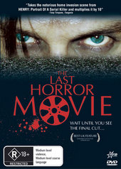 The Last Horror Movie on DVD