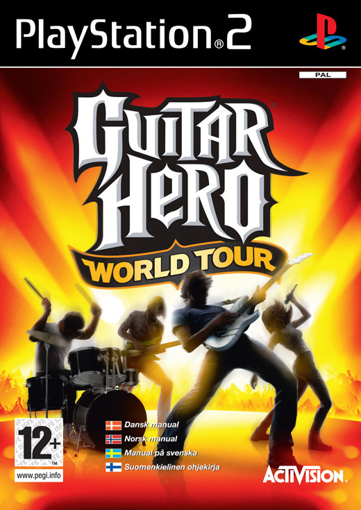 Guitar Hero: World Tour (Game Only) for PS2