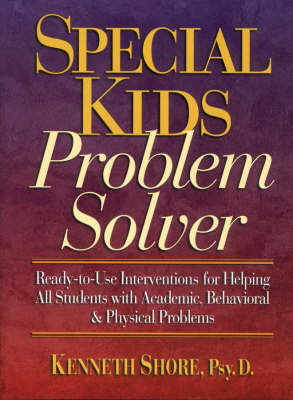 Special Kids Problem Solver by Kenneth Shore