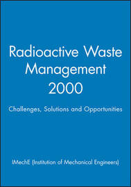 Radioactive Waste Management by IMechE (Institution of Mechanical Engineers) image