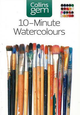10-minute Watercolours by Hazel Soan image