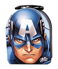 Marvel: Captain America Arch Shape Tin Tote Lunchbox