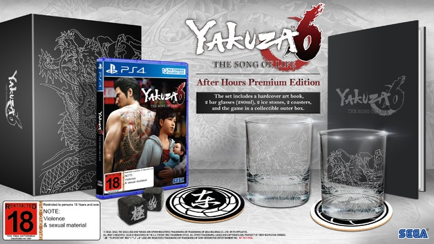 Yakuza 6: The Song of Life After Hours Premium Edition for PS4