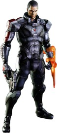 Mass Effect: Commander Shepard (Male) - Play Arts Kai Figure