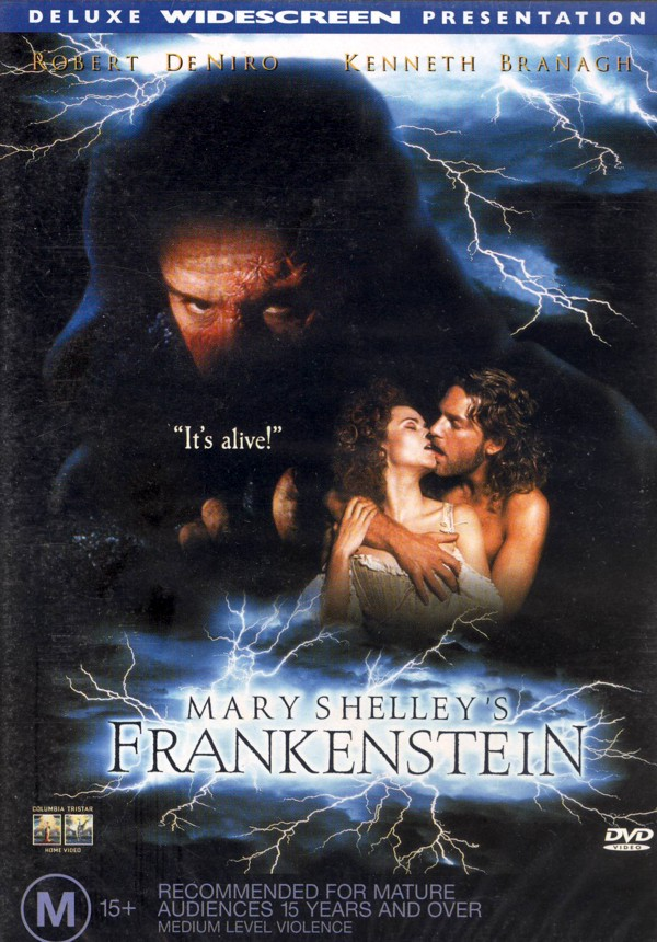 Mary Shelly's Frankenstein on DVD image