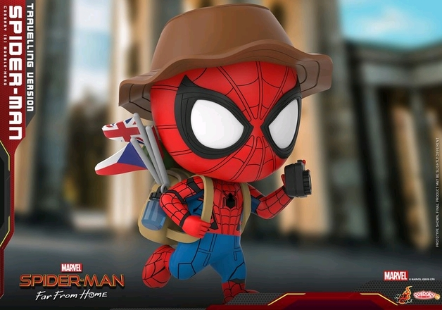 Spider-Man: Far From Home - Spider-Man (Travelling) Cosbaby Figure