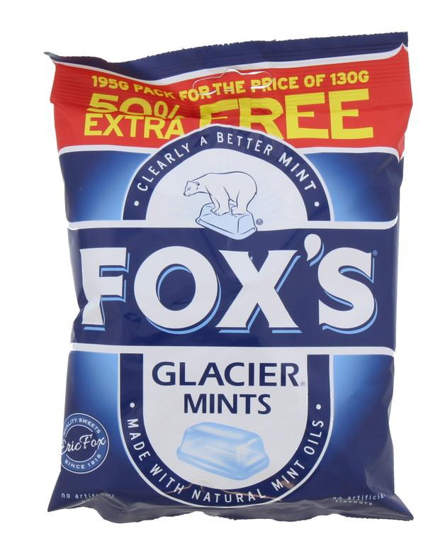 Fox's: Glacier Mints (130g) 12pk