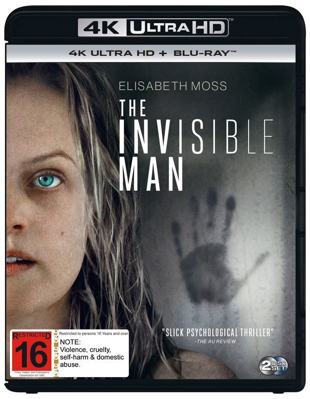The Invisible Man on UHD Blu-ray