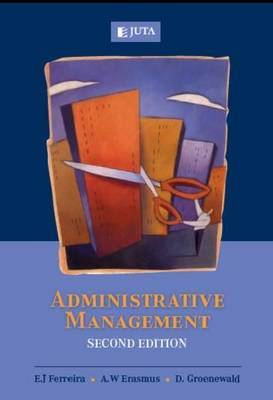 Administrative Management by E.J. Ferreira image