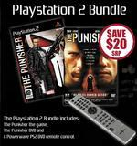 Punisher + DVD Punisher + P2 PowerWave DVD Remote for PlayStation 2