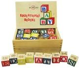 Fun Factory: Educational Wooden Blocks (48pcs)