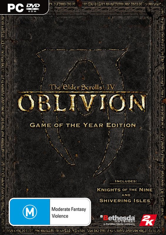The Elder Scrolls IV: Oblivion Game of the Year Edition for PC Games