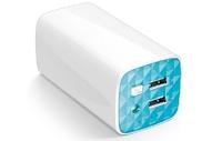 TP-Link 10400mAh twin USB mini charger + flashlight for smartphones