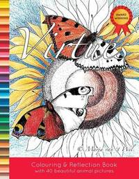 Virtues Colouring and Reflection Book by Marja Van 't Wel