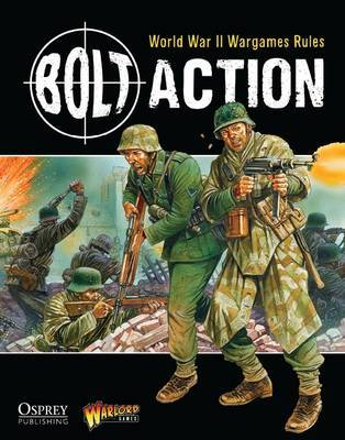 Bolt Action Rulebook: World War II Wargames Rules by Warlord Games image