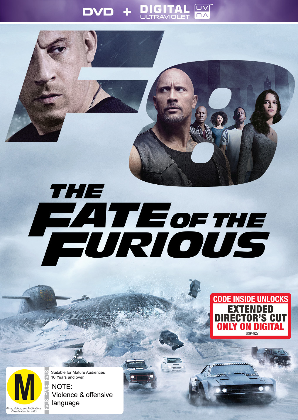 The Fate of the Furious on DVD image