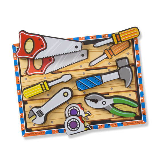 Melissa & Doug: Tools Chunky Wooden Puzzle image