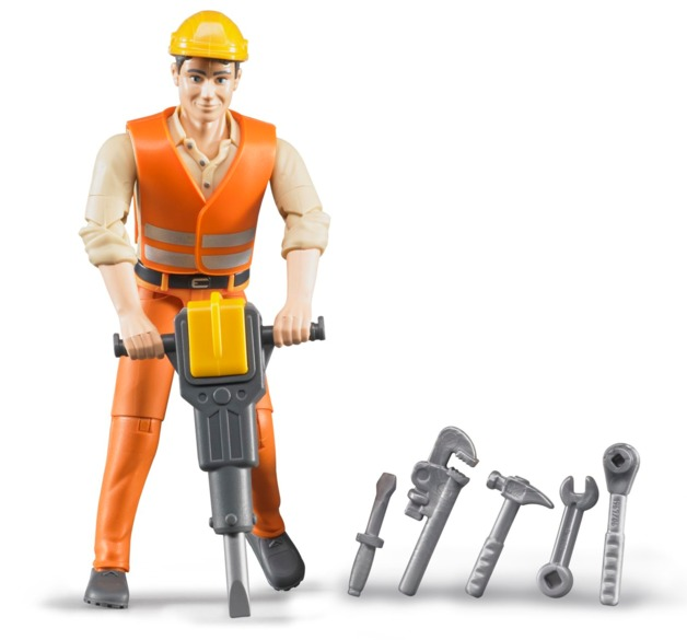 Bruder: Construction Worker Figure