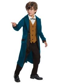 Kids Deluxe Newt Scamander Costume - Large