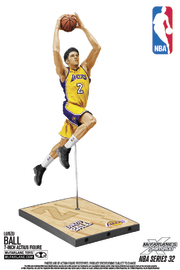 "NBA SportsPicks: Lonzo Ball (LA Lakers) - 6"" Action Figure"