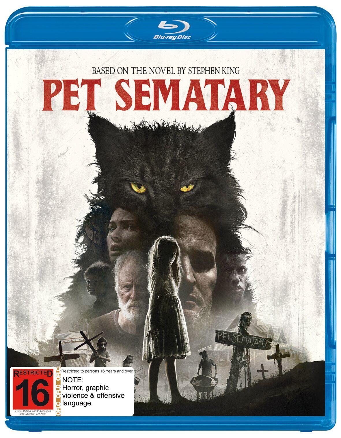 Pet Sematary (2019) on Blu-ray image