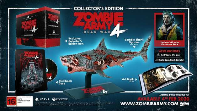 Zombie Army 4 Dead War Collector's Edition for PS4