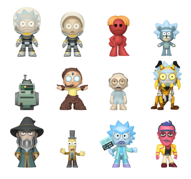 Rick and Morty: Series 4 - Mystery Minis Figure - (Blind Box)