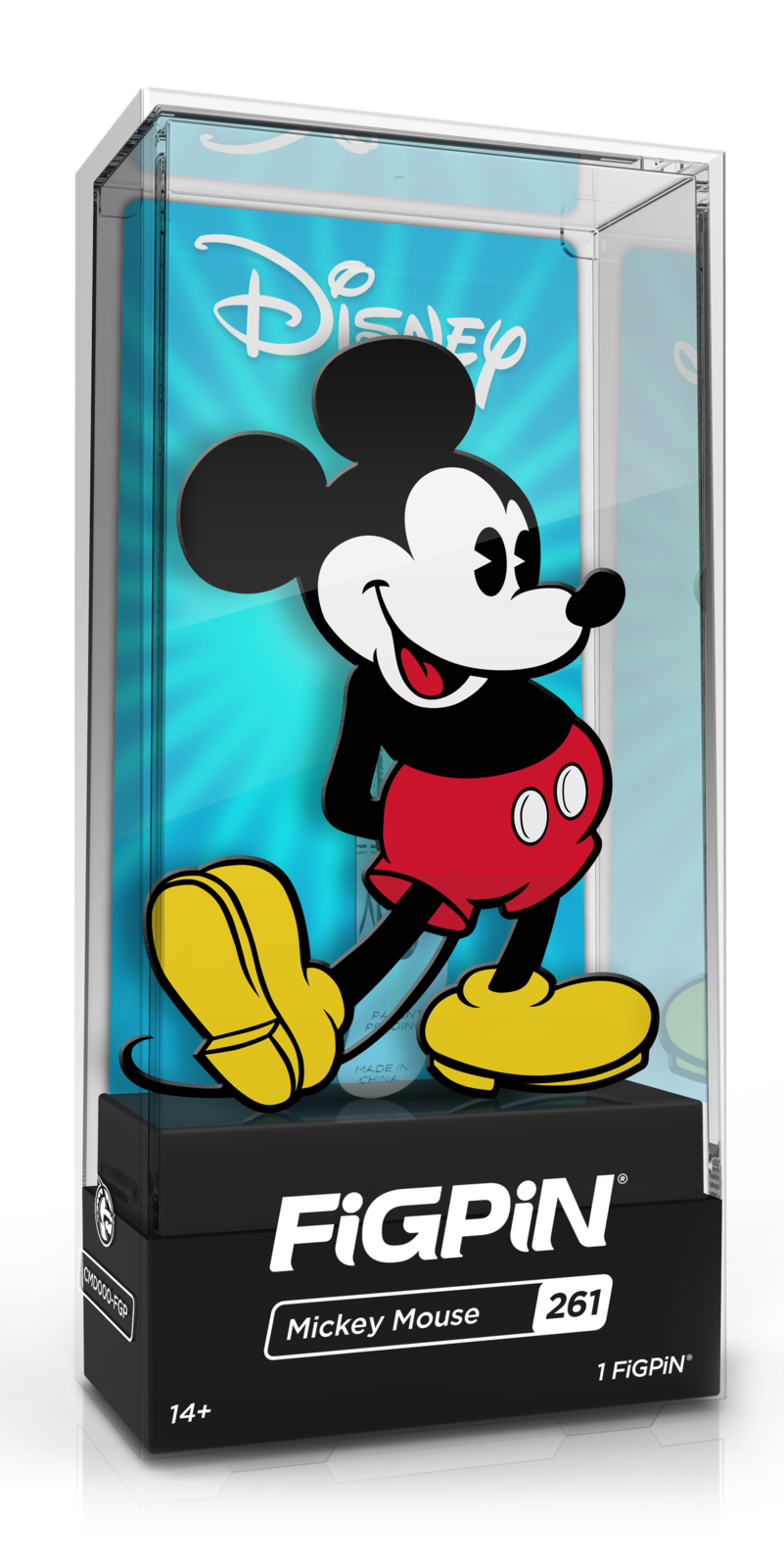 Mickey and Friends: Mickey Mouse (#261) - Collectors FiGPiN image