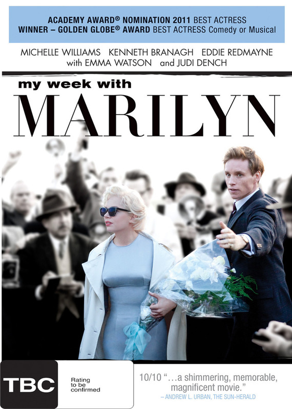 My Week With Marilyn on DVD