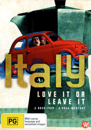 Italy: Love It or Leave It on DVD