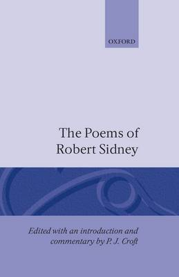 The Poems of Robert Sidney by Robert Sidney image