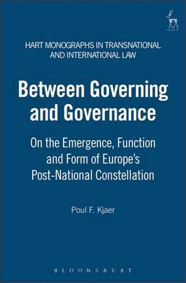 Between Governing and Governance by Poul F. Kjaer image