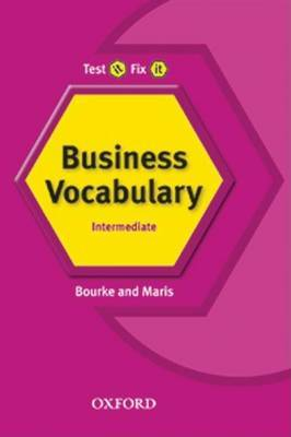 Test it, Fix it Business Vocabulary: Pre-intermediate level by Kenna Bourke image