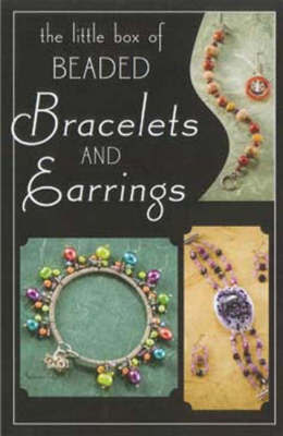 Little Box of Beaded Bracelets and Earrings