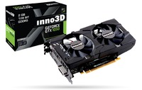 INNO3D GeForce GTX 1050 X2 2GB Graphics Card