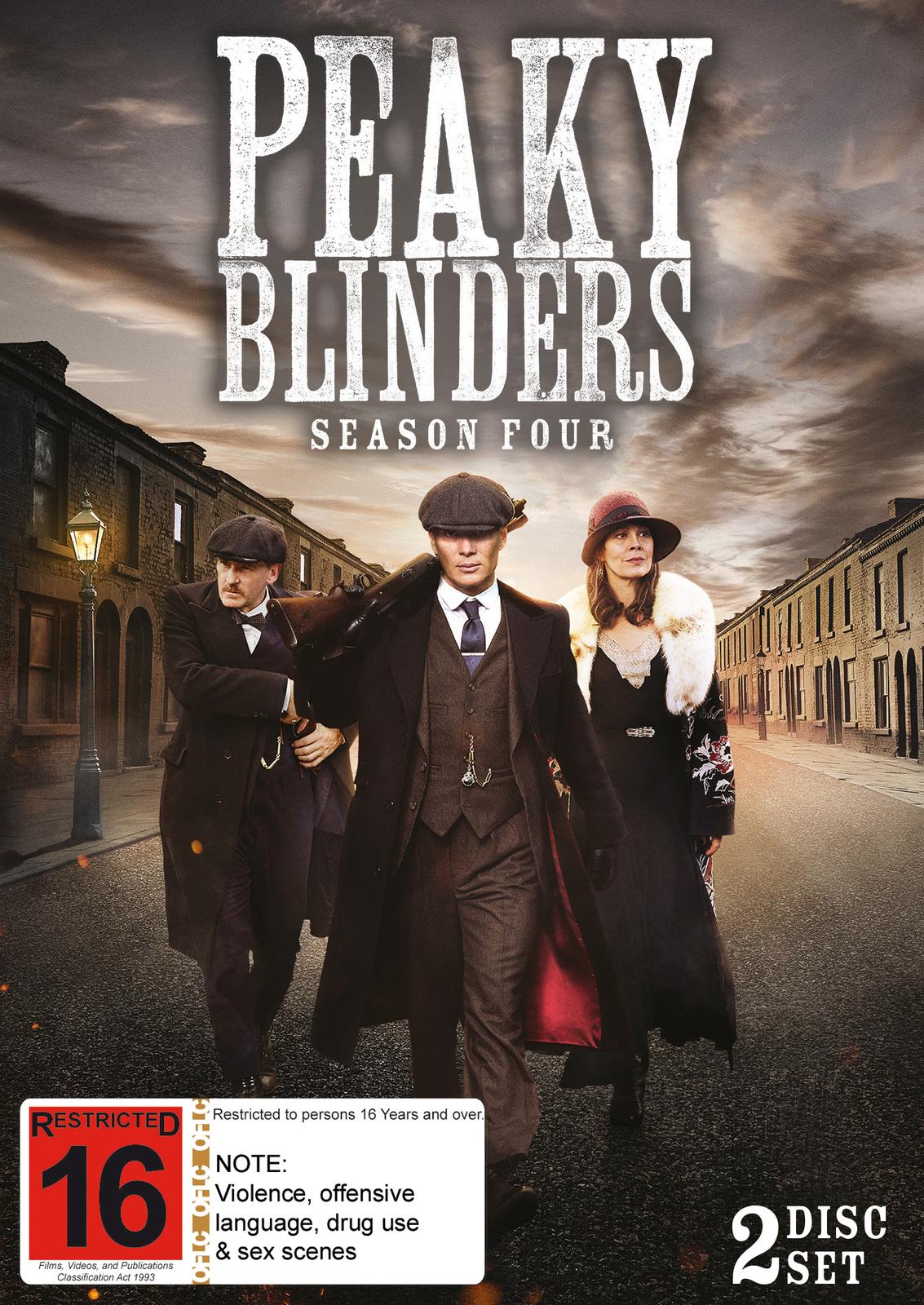 Peaky Blinders - The Complete Season 4 on DVD image