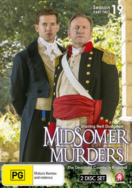 Midsomer Murders - Season 19: Part 2 on DVD