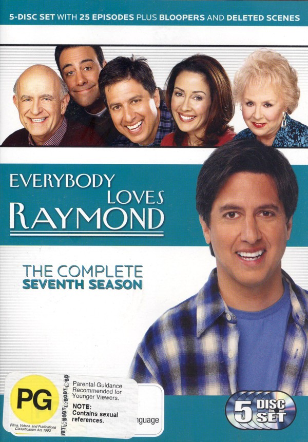 Everybody Loves Raymond - The Complete Seventh Season (5 Disc Set) on DVD image