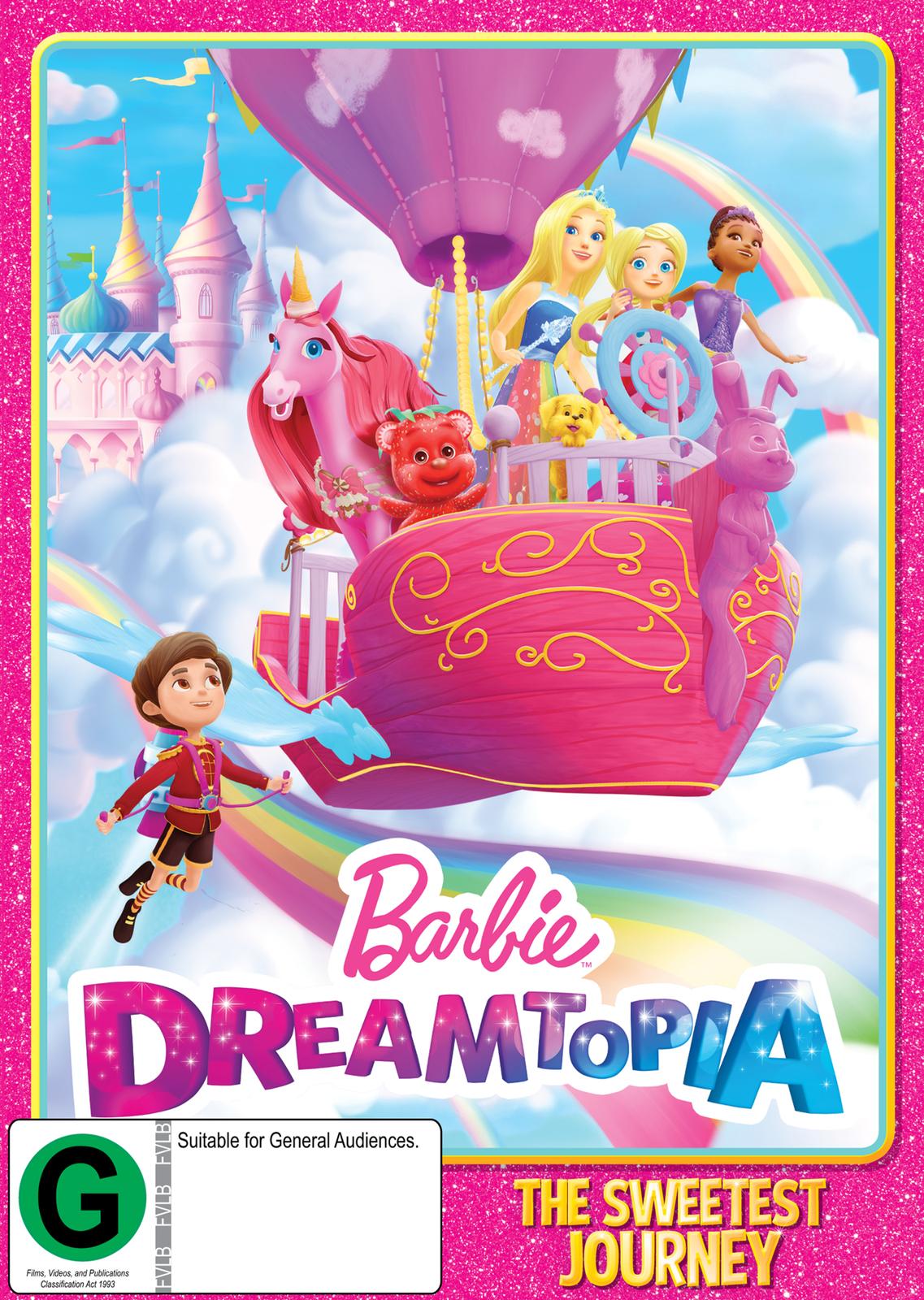 Barbie Dreamtopia: Volume 1 on DVD image