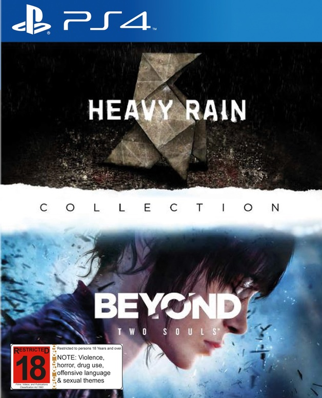 Heavy Rain and Beyond: Two Souls Collection for PS4