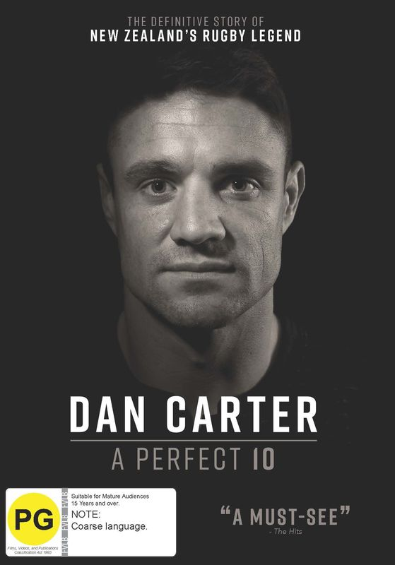 Dan Carter - A Perfect 10 on DVD
