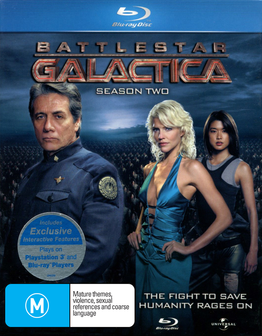 Battlestar Galactica - The Complete Second Season on Blu-ray image