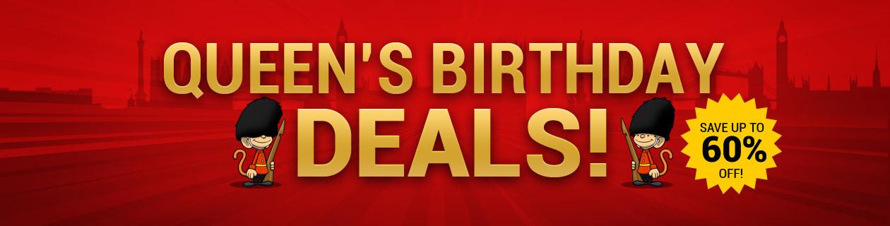 Queen's Birthday Deals