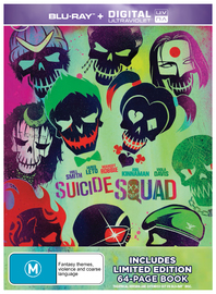 Suicide Squad - Special Edition on Blu-ray, UV