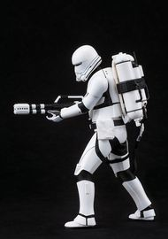 Star Wars: The Force Awakens First Order Snowtrooper and Flametrooper ArtFX+ Statue (2-Pack)