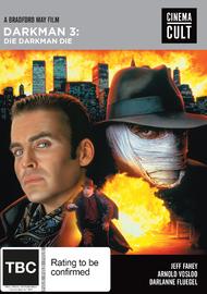 Darkman III: Die Darkman Die on DVD